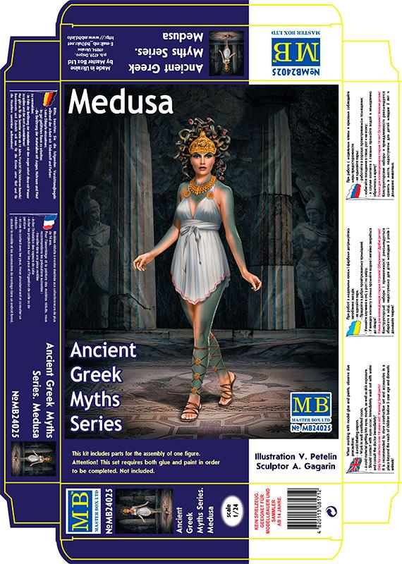 MASTER BOX 1/24 Ancient Greek Myths Series. Medusa