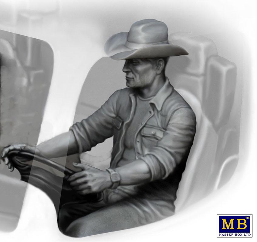 MASTER BOX Truckers series. Mike (Beach Boy) Barrington