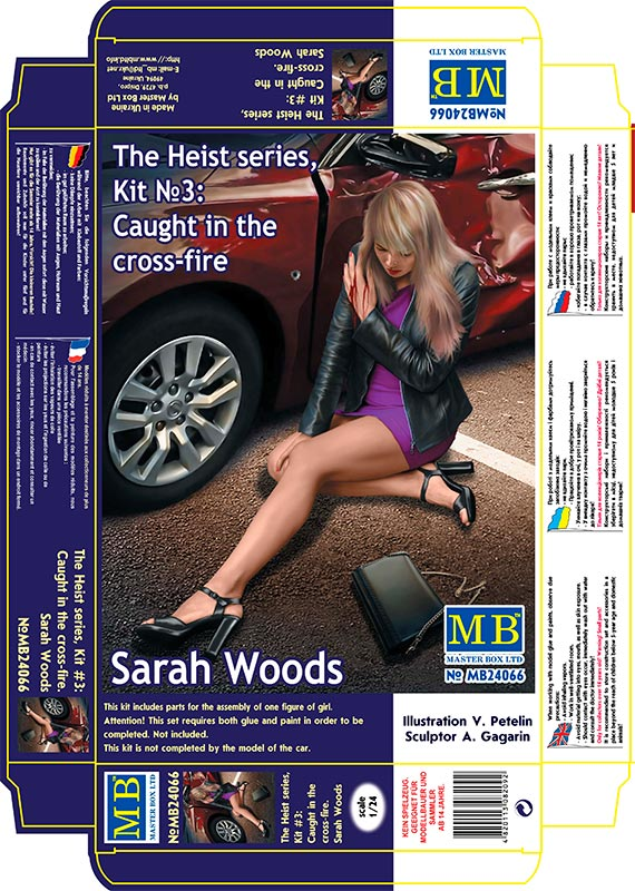 MASTER BOX The Heist series, Kit No3: Caught in the cross-fire. Sarah Woods