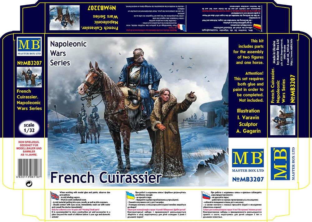 MASTER BOX 1/32 French Cuirassier, Napoleonic Wars Series
