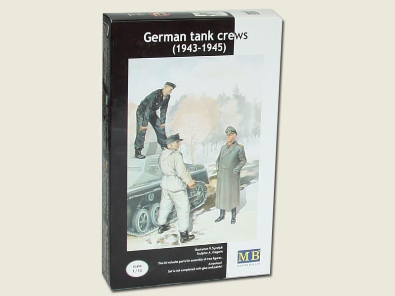 MASTER BOX German tank crew (1943-1945) Kit No2