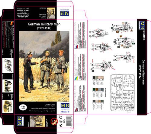 MASTER BOX 1/35 German military men (1939-1942)