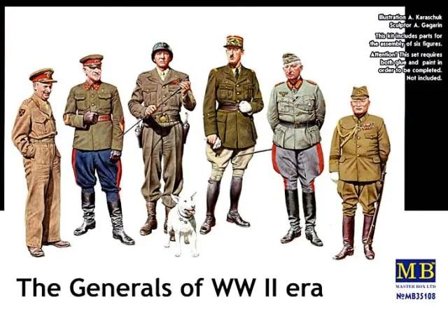 MASTER BOX The Generals of WW II