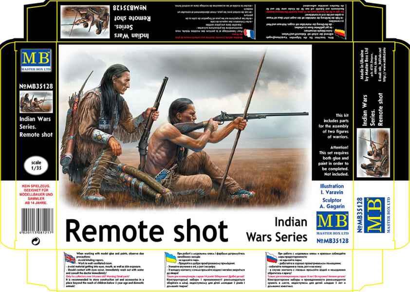 MASTER BOX Indian Wars Series. Remote shot