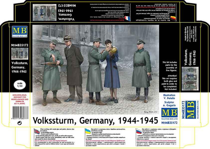 MASTER BOX 1/35 Volkssturm, Germany, 1944-1945