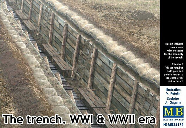 "MASTER BOX ""The trench. WWI & WWII era"""