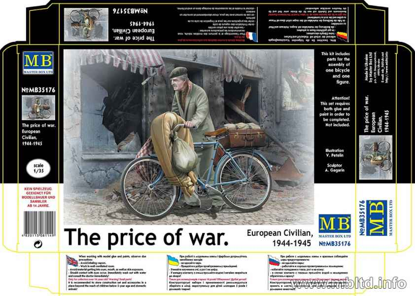 MASTER BOX The price of war. European Civilian, 1944-1945