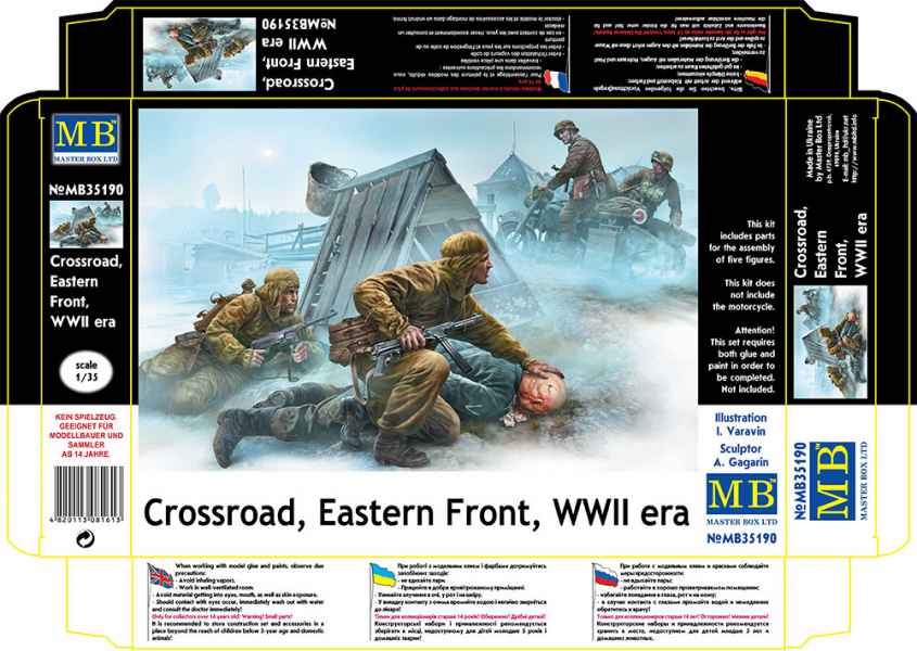 MASTER BOX Crossroad, Eastern Front, WWII era
