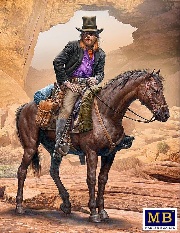 MASTER BOX Outlow. Gunslinger series. Kit No. 2. Gentleman Jim Jameson - Hired Gun