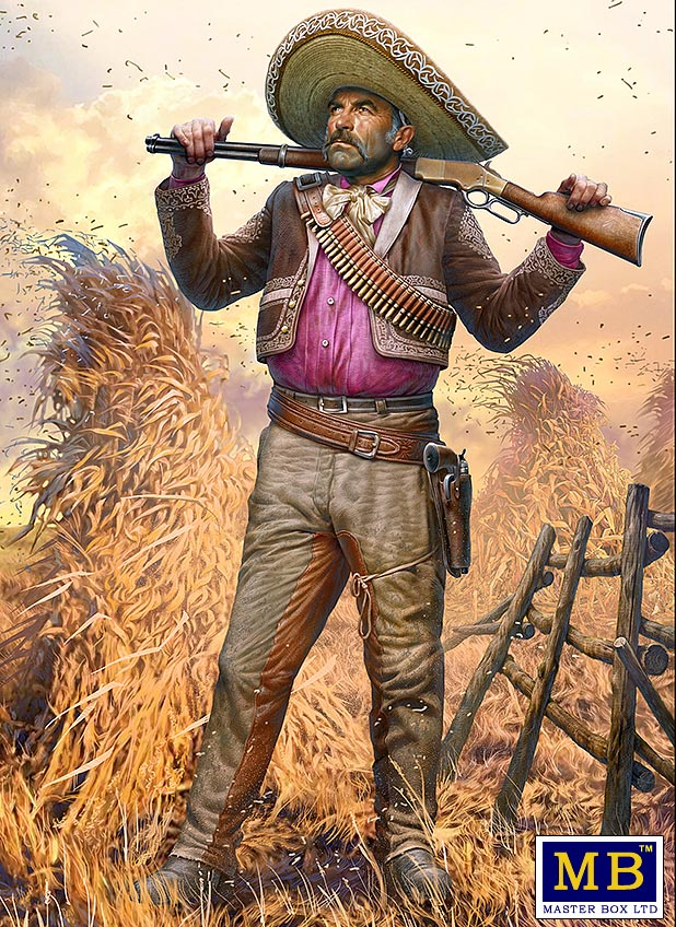 MASTER BOX Outlow. Gunslinger series. Kit No. 3. Pedro Melgoza - Bounty Hunter