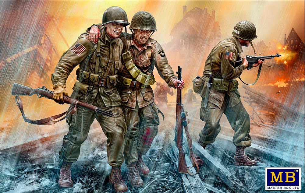 MASTER BOX 1/35 US Paratroopers, 1944