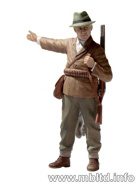 MASTER BOX British paratroopers, 1944. Kit 1