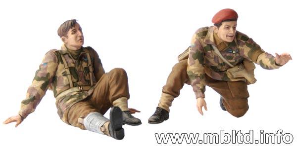 MASTER BOX 1/35 British paratroopers, 1944. Kit 2