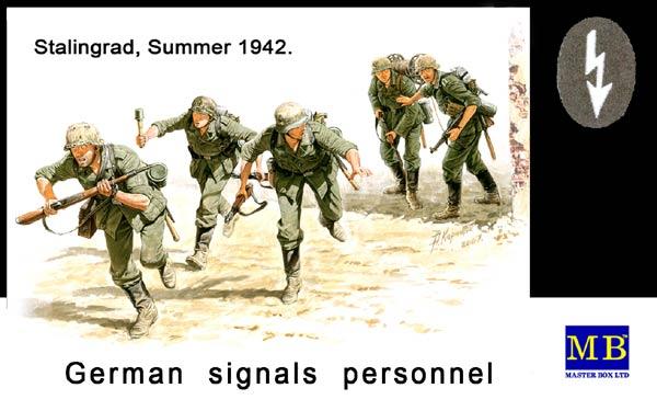 MASTER BOX German Signals Personnel, Stalingrad, 1942