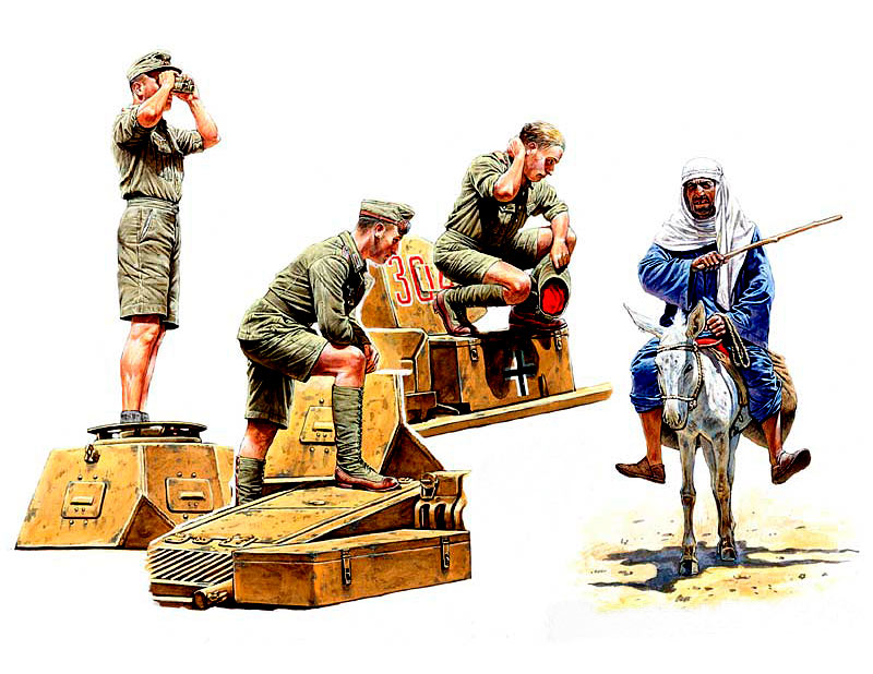 MASTER BOX 1/35 Deutsches Afrika Korps, WWII Era