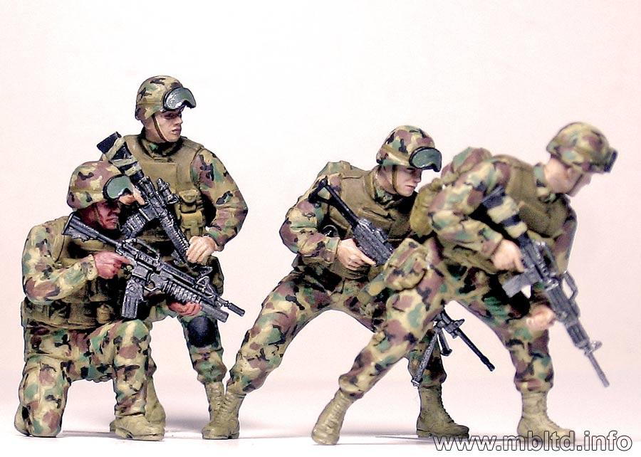 MASTER BOX 1/35 Iraq events. Kit #1, US Marines