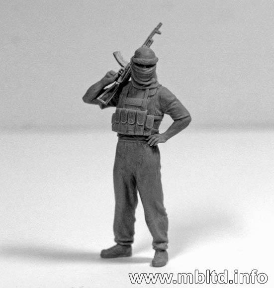 MASTER BOX Iraq events. Kit #2, Insurgence