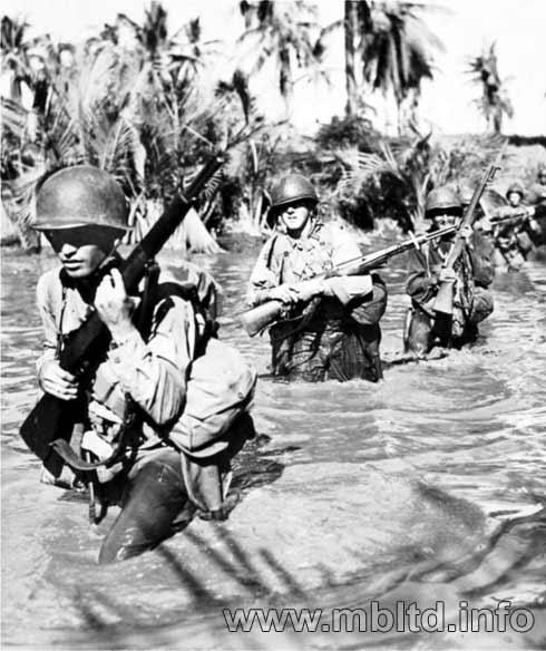 MASTER BOX 1/35 US Marines in Jungle, WW II era