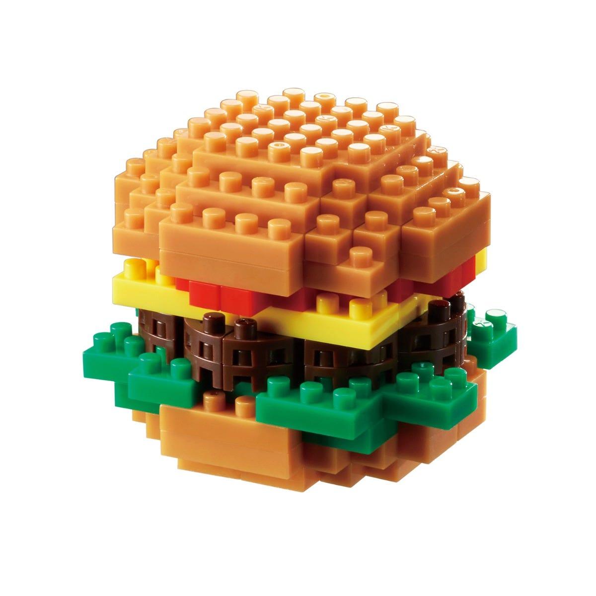 "Nanoblock Collection Series ""Foods"" Hamburger"