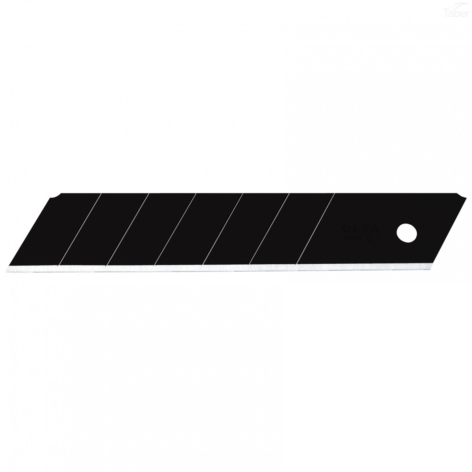 OLFA 25mm HBB-20B Black Ultra-Max Extra Heavy-Duty Snap-Off Replacement Blades (20/PACK)