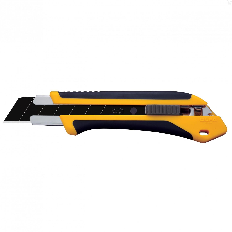 OLFA 25mm XH-AL Fiberglass Rubber Grip Auto-Lock Utility Knife