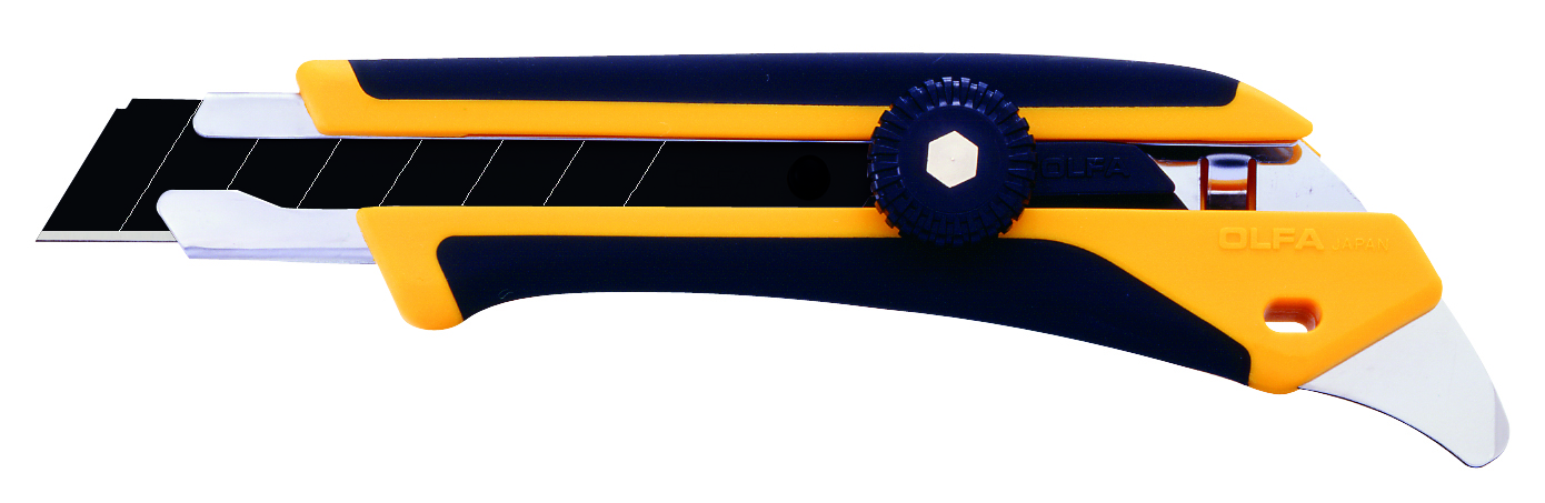 OLFA X-Design Fiberglass Utility Knife, Rtcht (L-5)