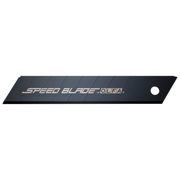 OLFA 18mm HD Ultra-Shrp Blk Speed Blde-10/pk (LFB-10B)