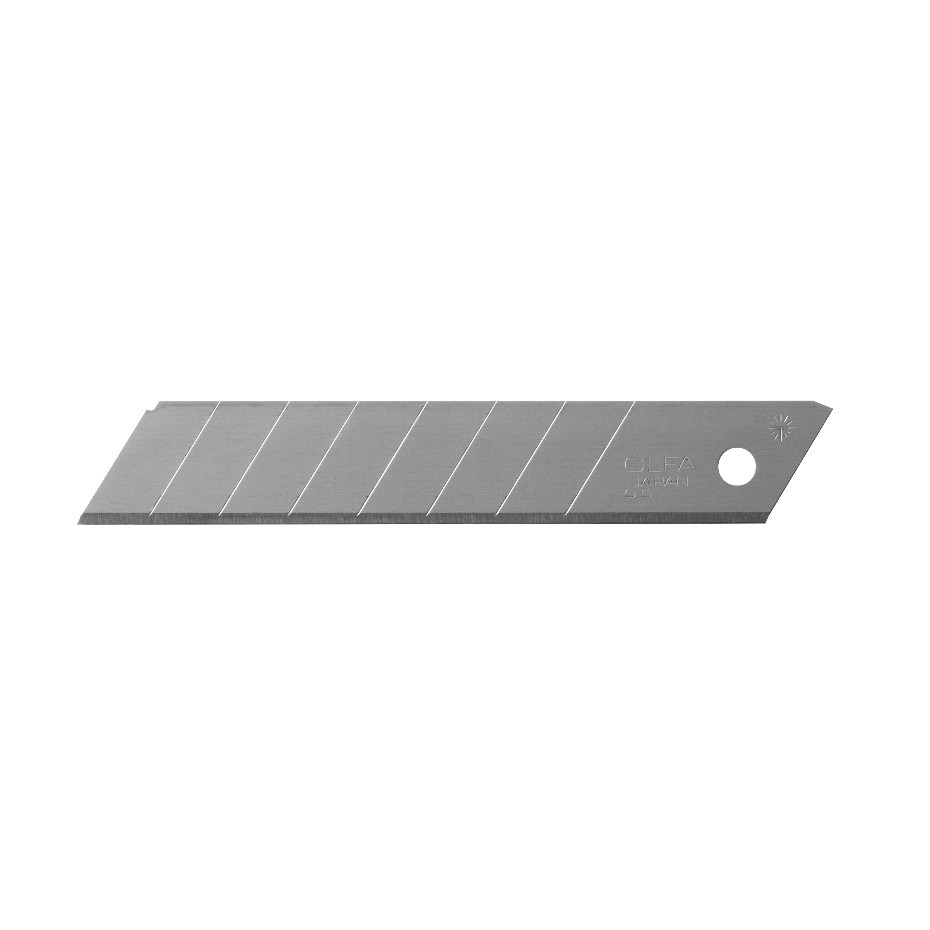 OLFA 18mm HD Silver Snap-Off Blade - 10/pk (LB-10B)