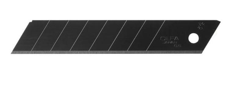 OLFA 18mm HD Ultra-Sharp Blk Snap Blade-10/pk (LBB-10B)