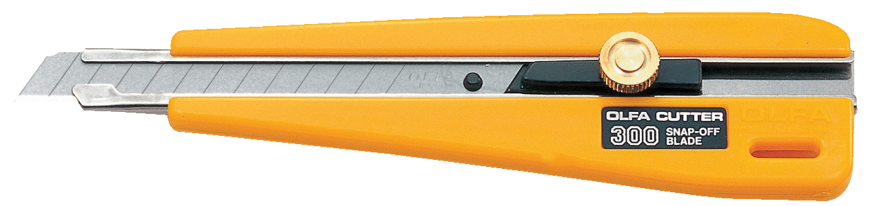 OLFA Basic Duty Ratchet- Lock Precision Knife (300)