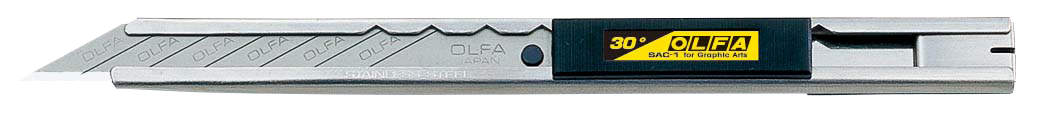 OLFA Stainless Steel Precision Graphics Knife (SAC-1)
