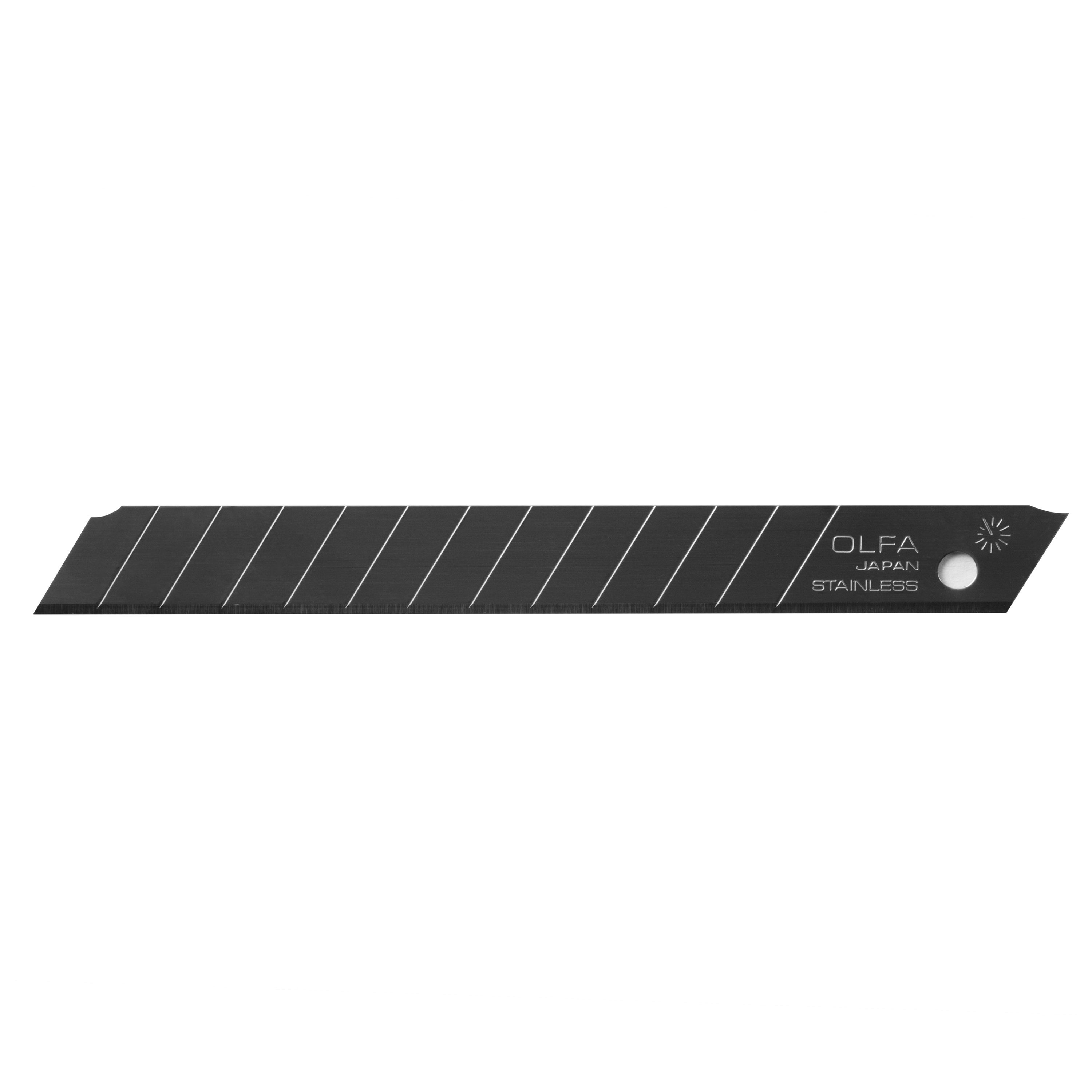 OLFA 9mm Prec Stainless Snap Blade - 50/pk (AB-50S)