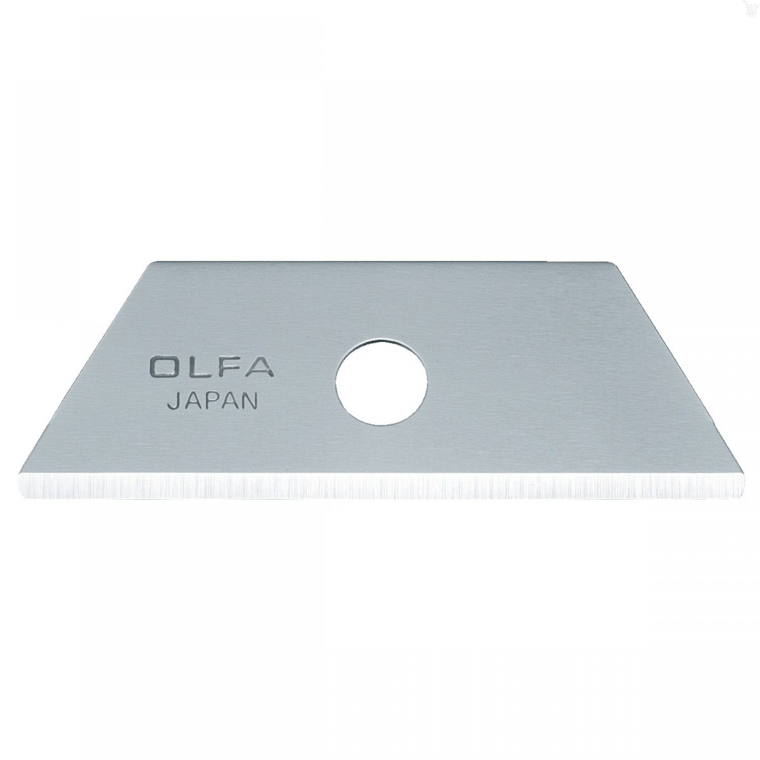 OLFA RSKB-2/10B Rounded Tip Dual-Edge Safety Blades (10/PACK)