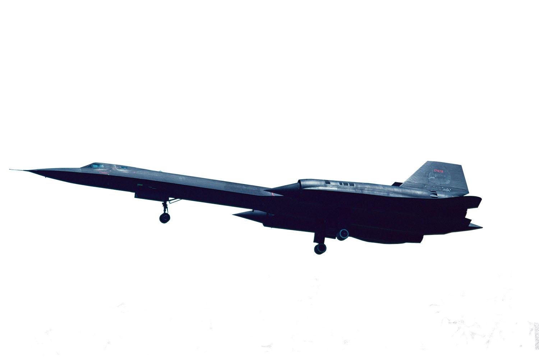 Platz 1/144 USAF High Altitude Reconnaissance Aircraft SR-71A Blackbird