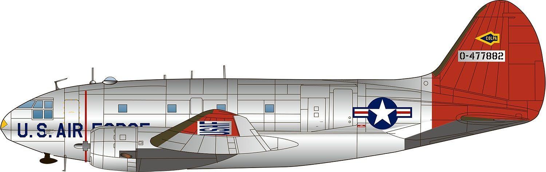 Platz 1/144 USAF Cargo Airplane C-46D Commando USAF/ANG