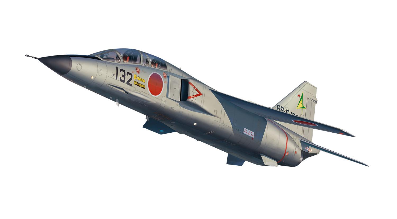 "Platz 1/144 JASDF T-2 Late Type ""Matsushima Base"""