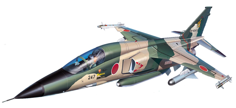 """Platz 1/144 JASDF F-1 """"3SQ"""""""