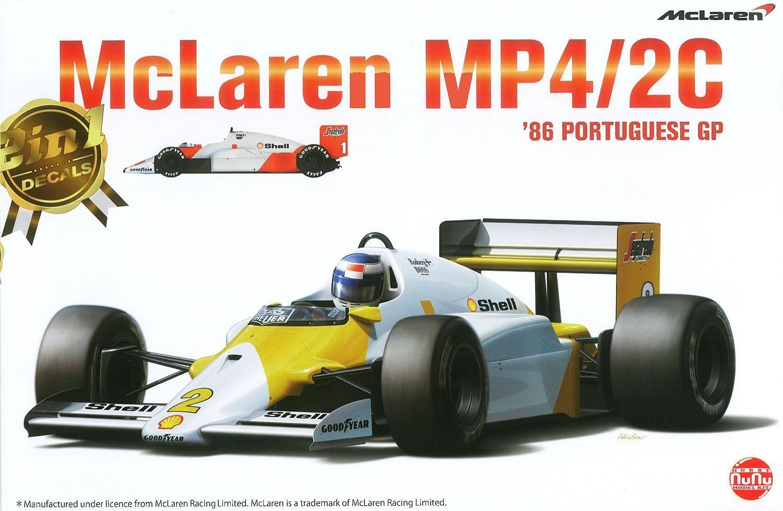 Platz 1/20 McLaren MP4/2C '86 Portuguese GP
