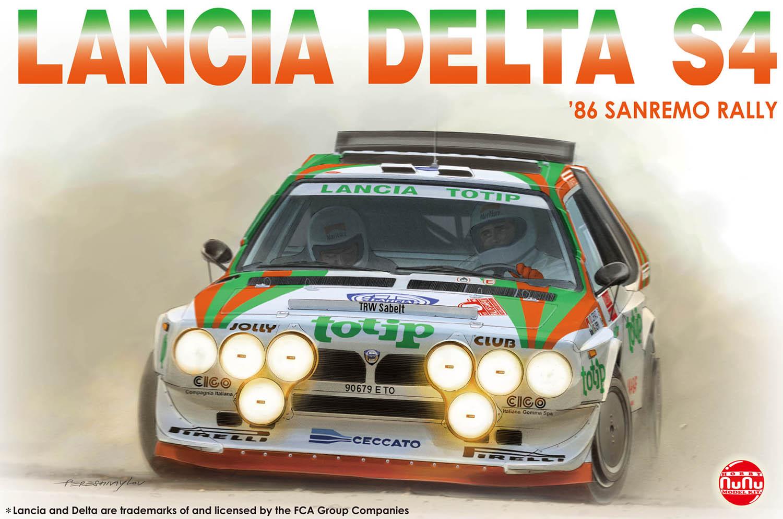 Platz NuNu 1/24 LANCIA Delta S4 Totip, Vehicle
