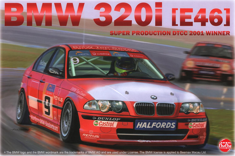 Platz 1/24 BMW 320i E46 Super Production DTCC 2001 Winner