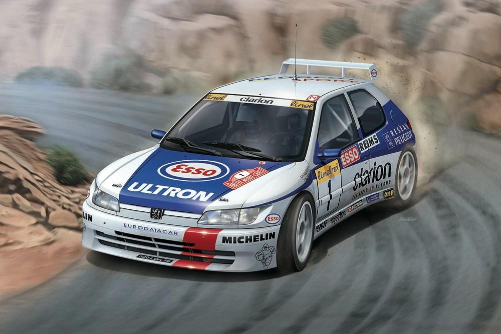 Platz NuNu 1/24 PEUGEOT 306 MAXI 1996 Monte Carlo Rally, Vehicle