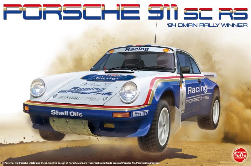 Platz Nunu 1/24 Racing Series: Porsche 911 SC RS '84 Oman Rally Winner