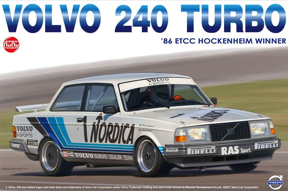 Platz NuNu 1/24 VOLVO 240T, Vehicle