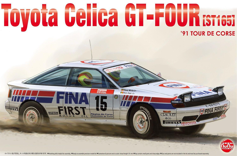 Platz 1/24 Toyota Celica GT-Four ST165 '91 Tour de Corse