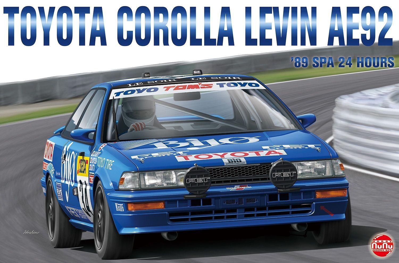 Platz 1/24 Toyota Corolla Levin AE92 '89 SPA 24 Hours