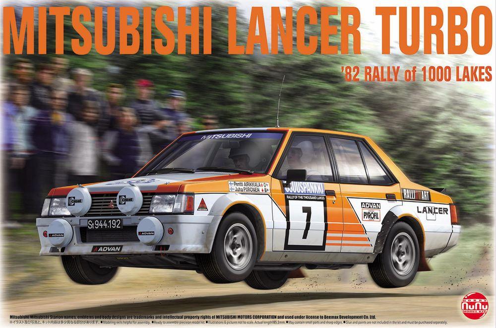 Platz NuNu 1/24 Mitsubishi Lancer Turbo 82 Rally of 1000 Lakes, Vehicle