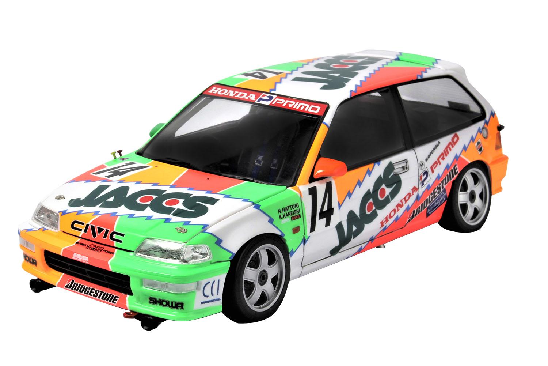 Platz NuNu 1/24 Racing Series: HONDA CIVIC EF9 1992 AIDA