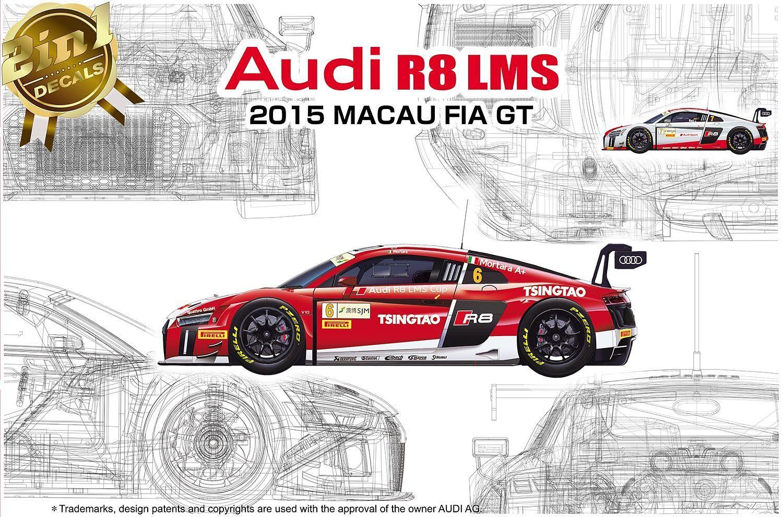 Platz 1/24 Audi R8 LMS GT3 FIA 2015 Macau World Cup