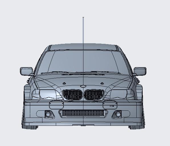 Platz NuNu 1/24 Racing Series BMW 320i E46 2004 ETCC Donington Winner