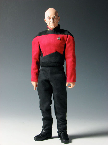 Platz 1/6 Star Trek Jean-Luc Picard Action Figure